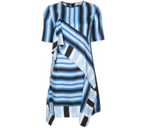 ruffled striped dress