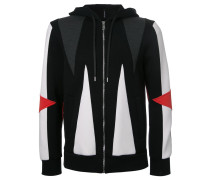 geometric hoodie