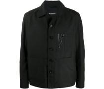 Jacke mit aufgesetzter Tasche