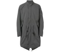 Mantel ohne Kragen