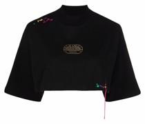 x Missoni Cropped-T-Shirt