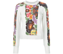 'Embroidered Garden' Pullover