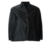 Cropped-Jacke mit Knopfverschluss