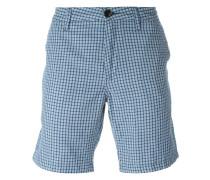 Karierte Chino-Shorts
