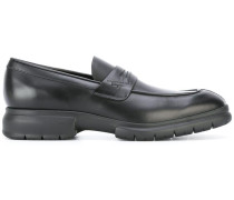 rubber sole penny loafers
