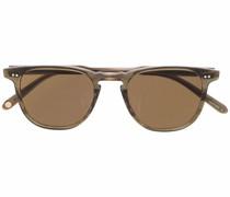 Eckige Brooks Sonnenbrille