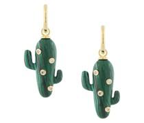 Creolen mit Kaktus-Anhänger