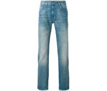 stonewashed Web jeans - men - Baumwolle - 30