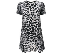 fitted leopard print dress