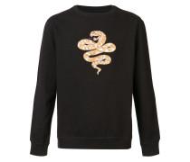 Sweatshirt mit Schlangenmotiv