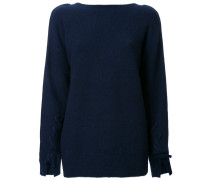 knotted front jumper