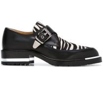 Loafer mit Zebra-Einsatz