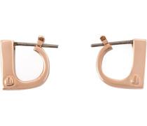 modern flat earrings