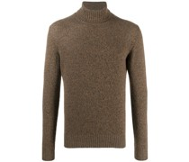 long-sleeved roll neck sweater