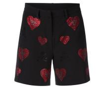 'Indi Lake' Shorts mit Swarovski-Kristallen