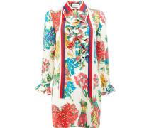 Hemdkleid mit floralem Print - women