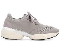 'Lush' Sneakers mit Kristallen