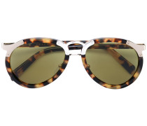 Runde Sonnenbrille - unisex - Acetat/metal - 56