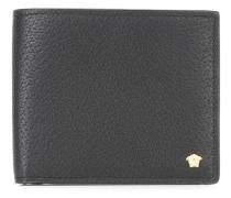 textured billfold wallet