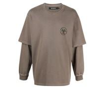 Sweatshirt im Layering-Look