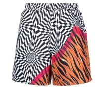 x Aries Shorts mit Print