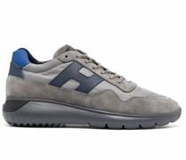 Interactive³ Sneakers mit Wildledereinsatz