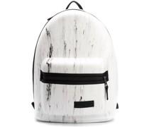 Rucksack mit marmoriertem Effekt