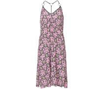 Mittellanges Kleid mit Print