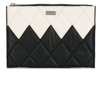 quilted clutch bag