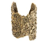 molten brass cuff