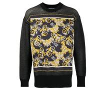 "Sweatshirt mit ""Barocco""-Print"