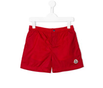 - Badeshorts mit Logo-Patch - kids - Polyamid - 6