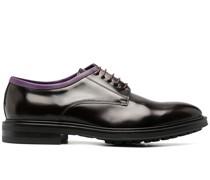 Oxford-Schuhe mit Kontrastdetail