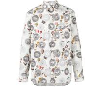 Hemd mit floralem Print - men - Baumwolle - S