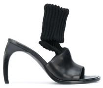 curved-heel sock sandals