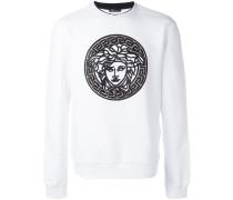 embroidered Medusa sweatshirt