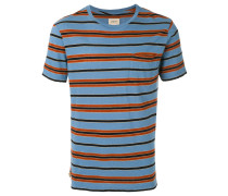 T-Shirt mit Querstreifen - men - Baumwolle - XXL