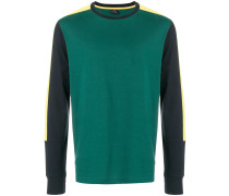 Langarmshirt in Colour-Block-Optik