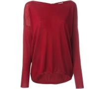 Pullover mit Schleifenverschluss