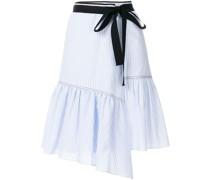 striped ribbon trim skirt