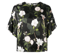 Florales Seidentop - women - Seide - 42