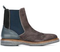 Chelsea-Boots im Budapester-Stil