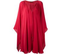 Kleid im Cape-Look - women - Seide - 38