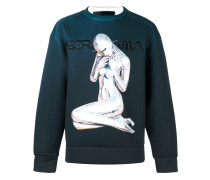 Sweatshirt mit Farbverlauf
