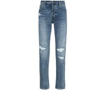 'Chitch Runway' Jeans in Distressed-Optik