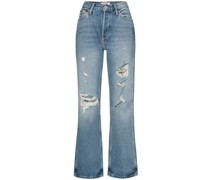 Distressed-Jeans im 90er-Look