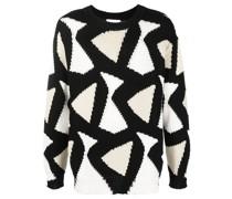 'Kosey' Pullover mit Dreiecken