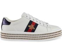 Ace Sneakers mit Kristallen