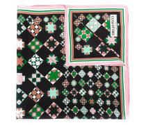 Seidenschal mit geometrischem Print - women