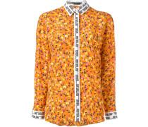 Seidenhemd mit Blumen-Print - women - Seide - 40